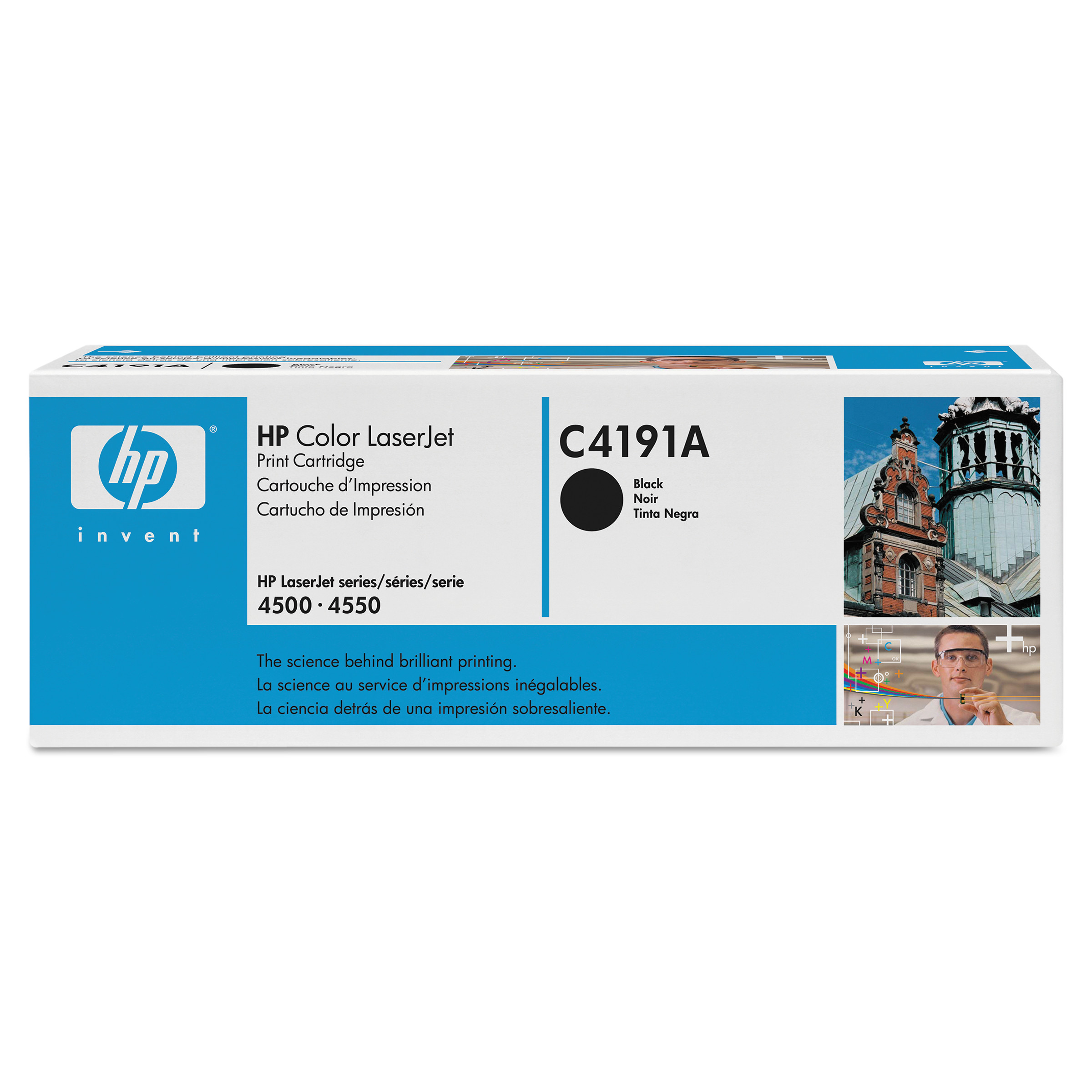 HP HP 640A, (C4191A) Black Original LaserJet Toner Cartridge