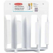 Rubbermaid Wrap-N-Bag Organizer, White