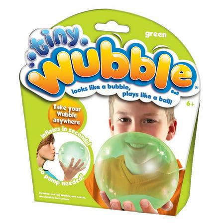 Green Tiny Wubble - Balls That Light Up