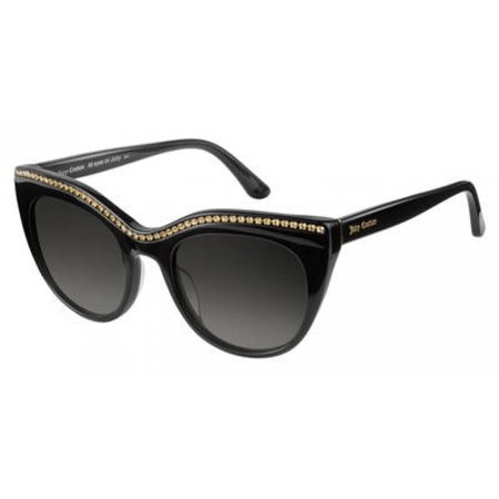 Juicy Couture JU595/S 0807/9O Black Cat Eye Sunglasses