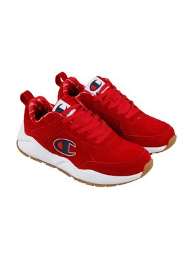 fae8a2ef1fe Product Image Champion 93 Eighteen Big Mens Red Suede Athletic Lace Up  Training Shoes