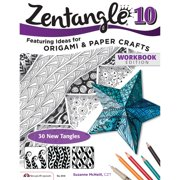 Design Originals Zentangle Expanded Workbook Edition, A Creative Art Form Where All You Need is Paper, Pencil & Pen