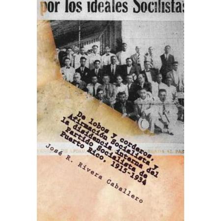 de Lobos y Corderos, Afirmacion Socialista y La Disidencia Interna del Partido Socialista de Puerto Rico, 1915-1934 - image 1 de 1