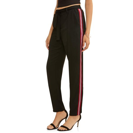 ROMEO + JULIET Women's Side Stripe Pants