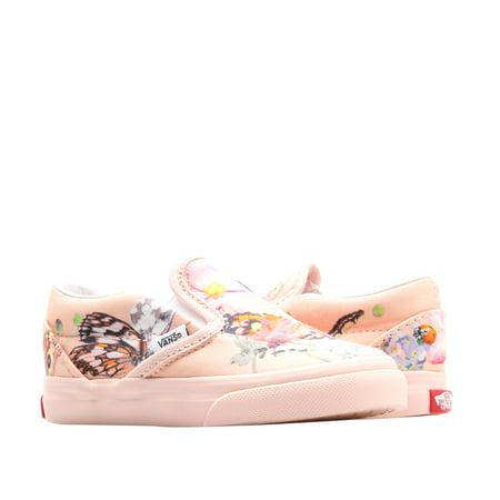 Vans x Molo Classic Slip-On Butterflies Toddler Kids Sneakers VN0A45JIVIE Butterfly Sneakers Shoes