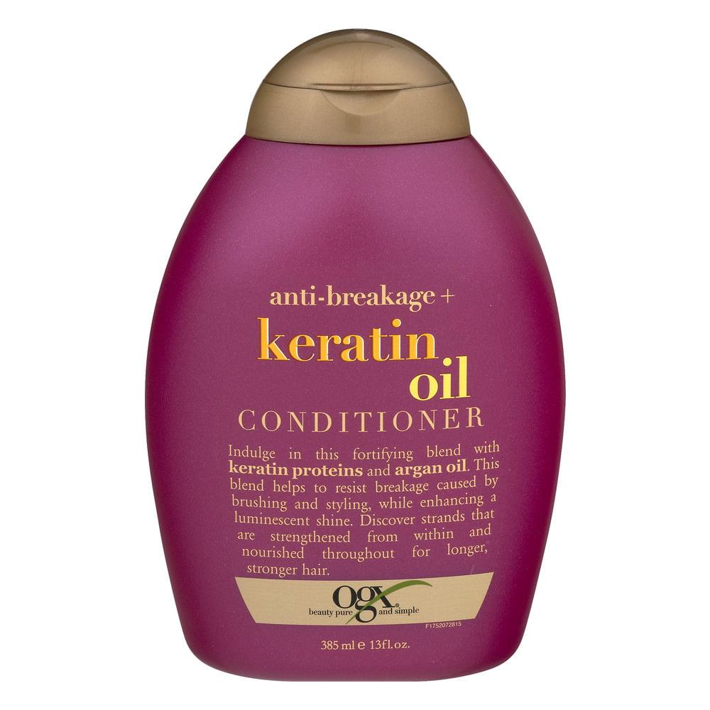 OGX Conditioner Anti-Breakage + Keratin Oil, 13.0 FL OZ