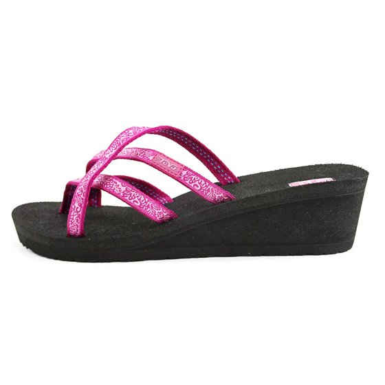 1b0757573 Teva - Teva Mush Mandalyn Wedge Ola 2 Sandal - Women s Fleur Pink ...