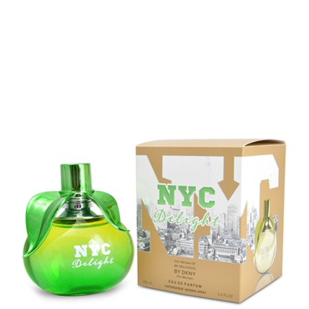 nyc delight by mirage brand fragrance inspired by be delicious by dkny for women Dkny Womens White Crystal