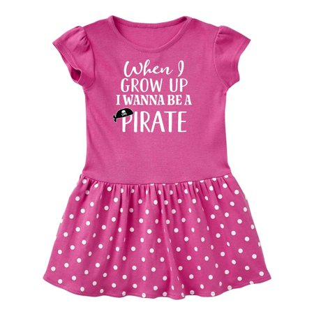 Pirate Kids Future Job Toddler Dress