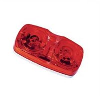 Peterson Mfg V138R Oval Clearance Light, Red