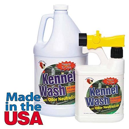 Dog Kennel Wash All Purpose Cleaner Neutralizes Odor Biodegrable Eco (Eco Friendly Resin)