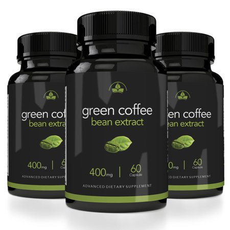 Totally Products Maximum Strength Green Coffee Bean Extract 400mg (60 Capsules) - 3