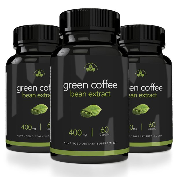 Totally Products Maximum Strength Green Coffee Bean Extract 400mg