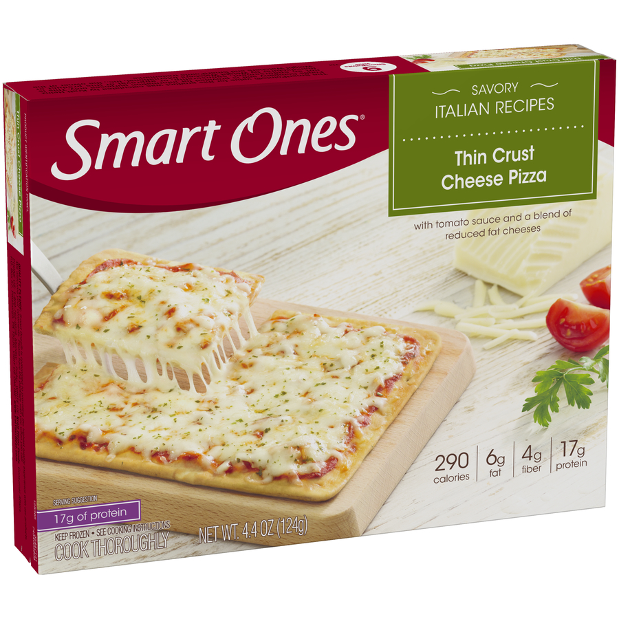 Smart Ones® Savory Italian Recipes Thin Crust Cheese Pizza 4.4 oz. Box