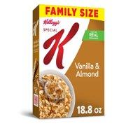 Kellogg's, Special K Breakfast Cereal, Vanilla and Almond, Family Size, 18.8 Oz