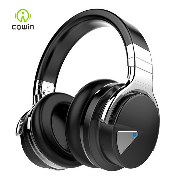 Cowin E7 Upgraded Active Noise Cancelling Headphones Wireless Bluetooth Headphones With Mic Deep Bass Headsets Over Ear 30h Playtime Black Walmart Com Walmart Com