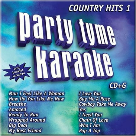 Party Tyme Karaoke: Country Hits, Vol. 19 (CD)