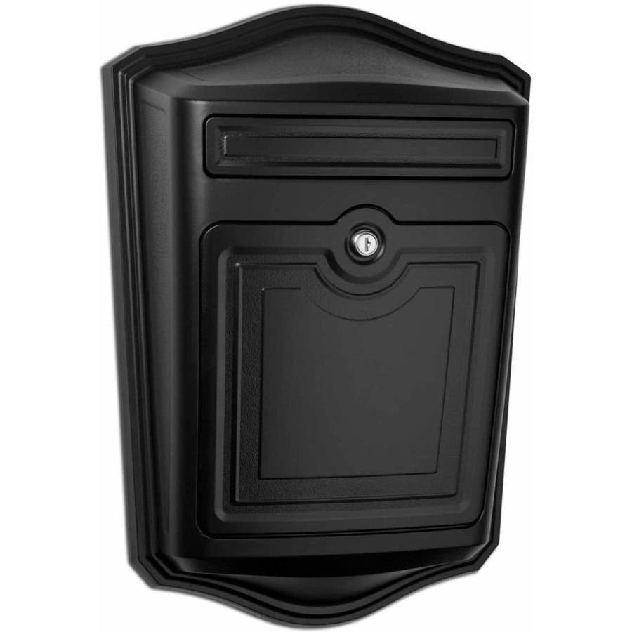 Architectural Mailboxes Maison Locking Wall Mount Mailbox, White