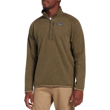 Patagonia Men's Better Sweater 1/4 Zip Pullover (Patagonia Mens Better Sweater 1 4 Zip Sale)