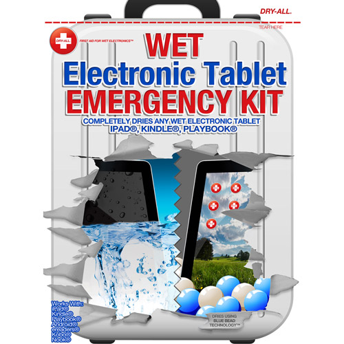 Dry-All Wet Electronic Tablet PC Emergency