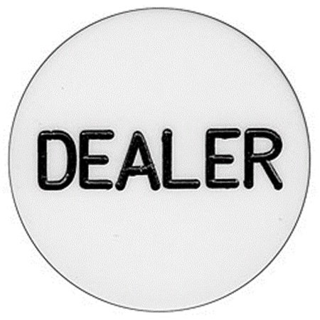 - Brybelly GBUT-201 Standard Dealer Button