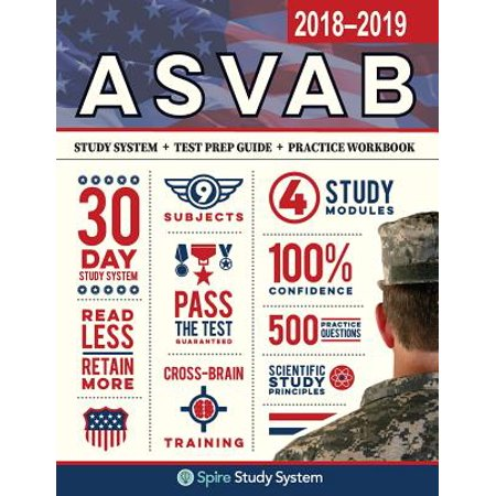 ASVAB Study Guide 2018-2019 by Spire Study System : ASVAB Test Prep Review Book with Practice Test
