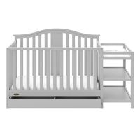 Graco Solano 4 in 1 Convertible Crib and Changer w Drawer
