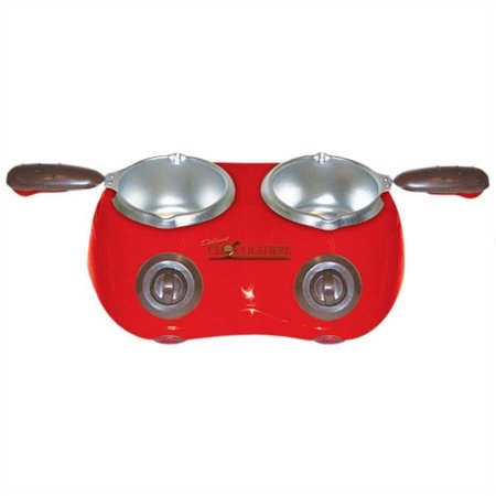 Total Chef CM20 Deluxe Chocolatiere Dual Chocolate Fondue and Melting Pot ()