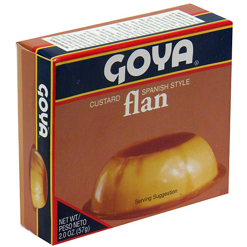 Goya Spanish Style Custard Flan, 2 oz (Pack of 36)