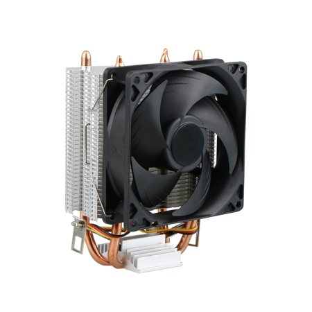 Quiet CPU Cooler Fan for LGA 1366 / LGA 1150 / LGA 1155 / LGA 1156 / LGA 775 AMD 3 / AMD 2  /