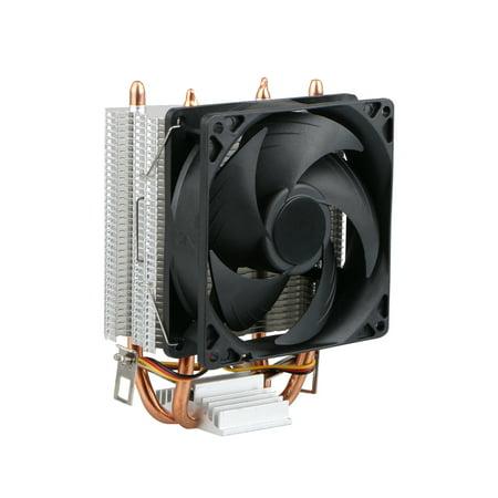 Quiet CPU Cooler Fan for LGA 1366 / LGA 1150 / LGA 1155 / LGA 1156 / LGA 775 AMD 3 / AMD 2  /