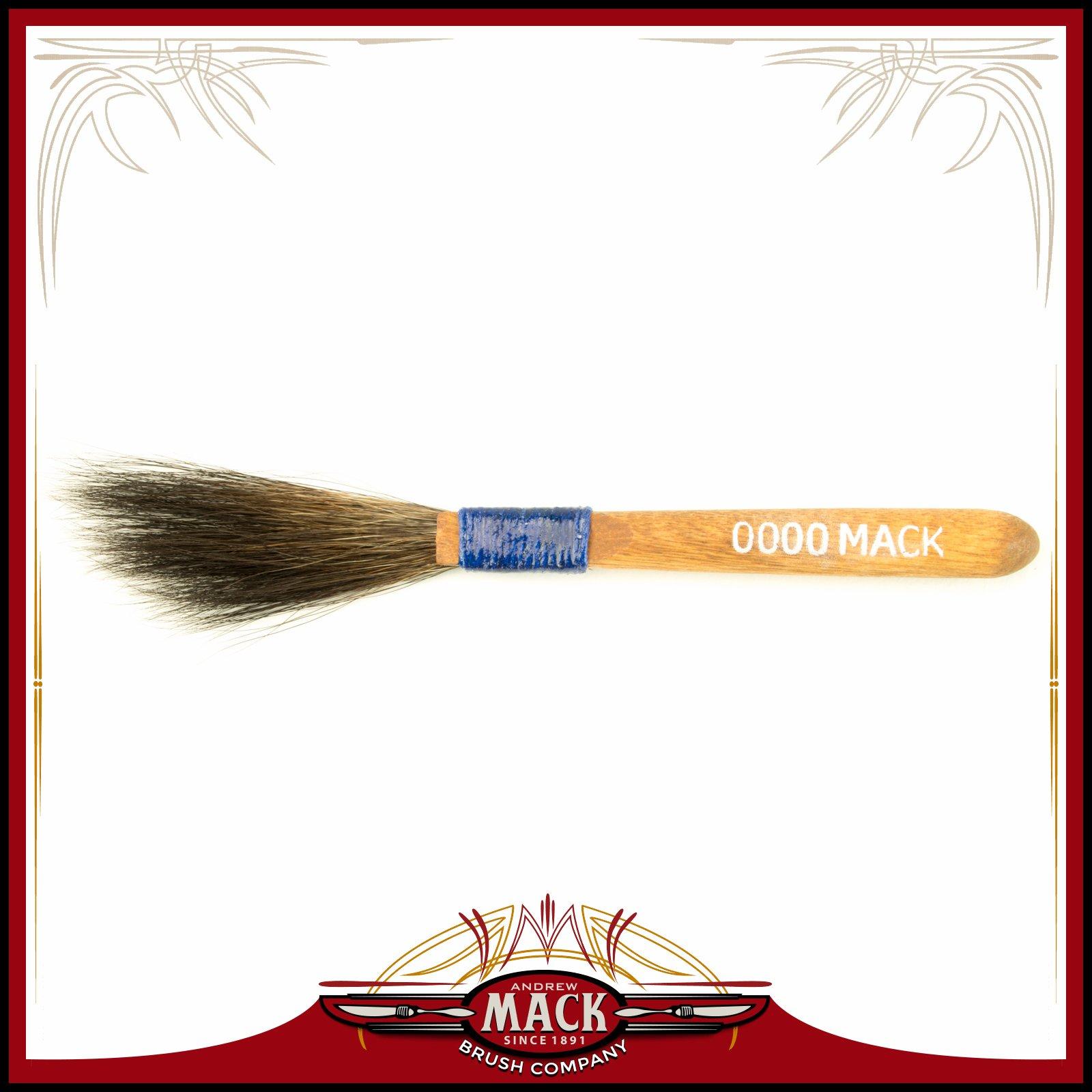 The Original Mack Sword Striping Size 0000 Series 10 Blue Squirrel Hair Pinstriping Brush 3 16 Thin Hair Head Width Walmart Com Walmart Com