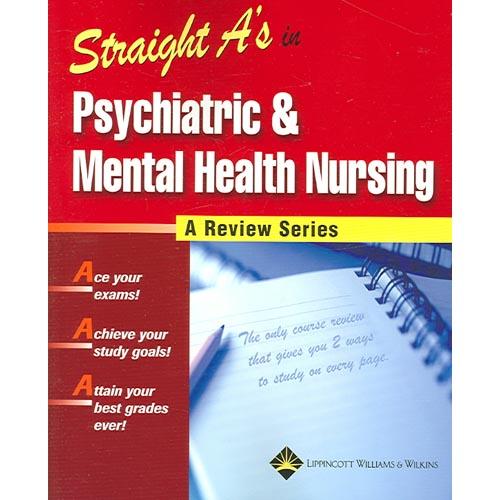 Straight A's in Psychiatric & Mental Health Nursing