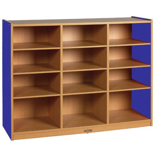 ECR4Kids Colorful Essentials  Multi-Purpose Cabinet 12 Compartment Cubby
