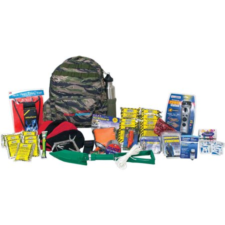 Ready America Emergency Deluxe 4-Person Outdoor Survival Kit