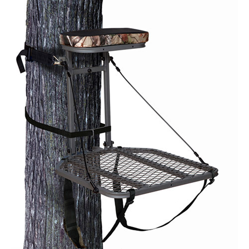 Ameristep Hang-On Tree Stand with Realtree AP Patterned Cushion