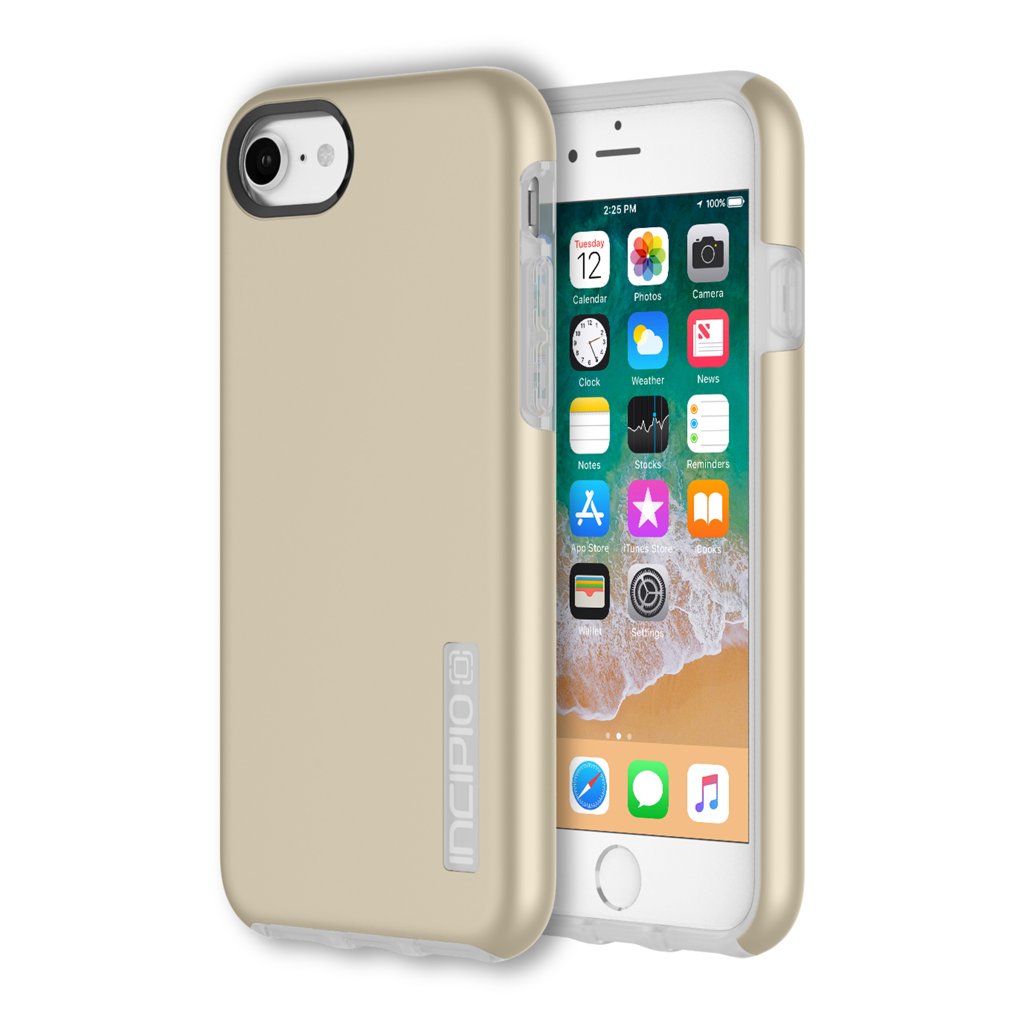 Incipio DualPro for iPhone 8/7 & iPhone 6/6s - Iridescent Champagne