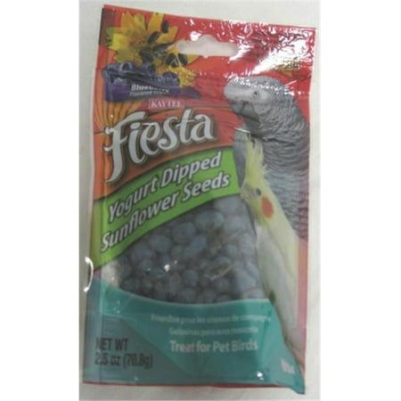 Fiesta Yogurt Dipped Sunflower Seeds- Blueberry 2.5 Ounce - 100502767