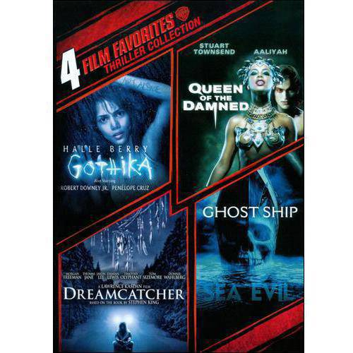 Thriller Collection: 4 Film Favorites - Ghost Ship/Queen Of The Damned/Gothika/Dreamcatcher (Widescreen)