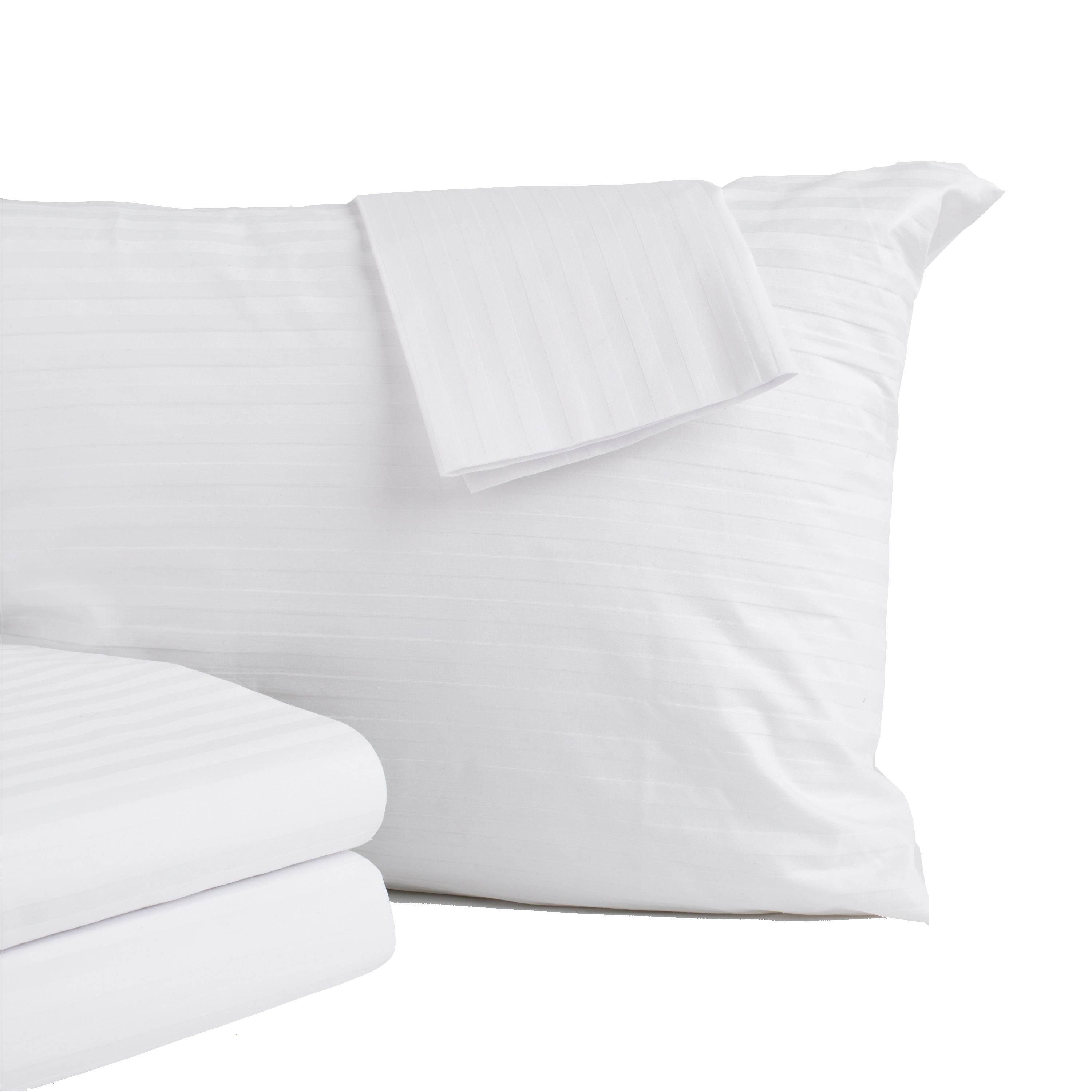 Click here to buy 8-Pack 100% Cotton Zippered Pillow Covers by Home Fashion Designs.