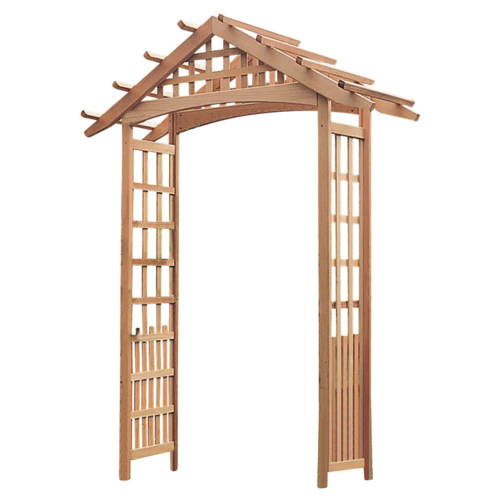 Phat Tommy 8 ft. Nantucket Wood Arbor