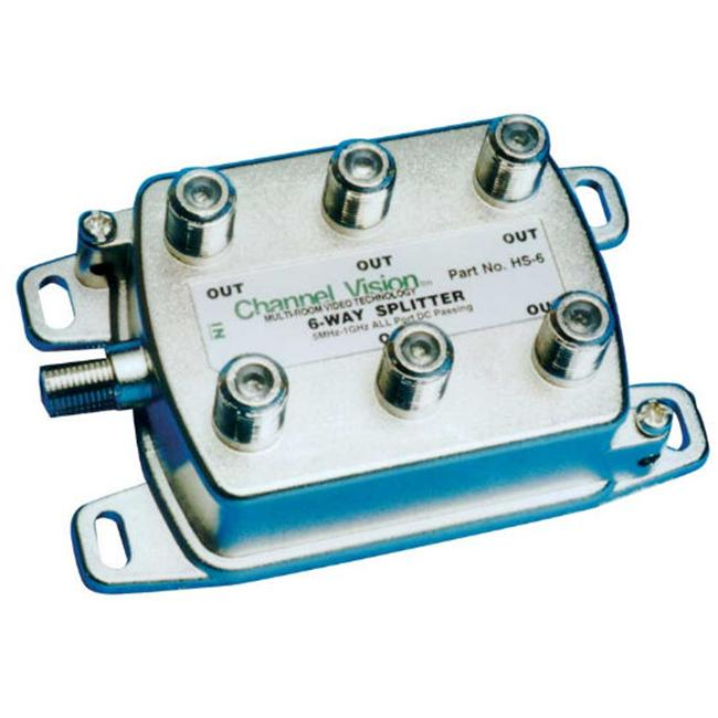 Channel Vision HS6 6 Way Splitter-Coupler