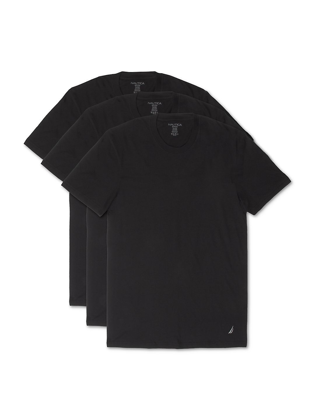 Three-Pack Assorted Crewneck Cotton Tee Set