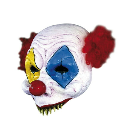 Open Gus Clown Adult Mask Halloween Costume Accessory