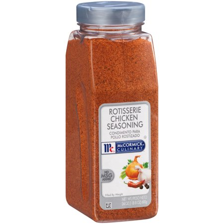 McCormick Culinary Rotisserie Chicken Seasoning, 24 (Kentucky Fried Chicken 11 Herbs And Spices Recipe)