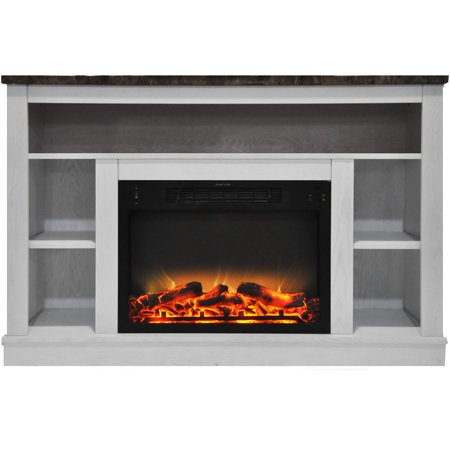 Awesome Cambridge Seville 47 Electric Fireplace Mantel Heater With Enhanced Log And Grate Display Download Free Architecture Designs Scobabritishbridgeorg