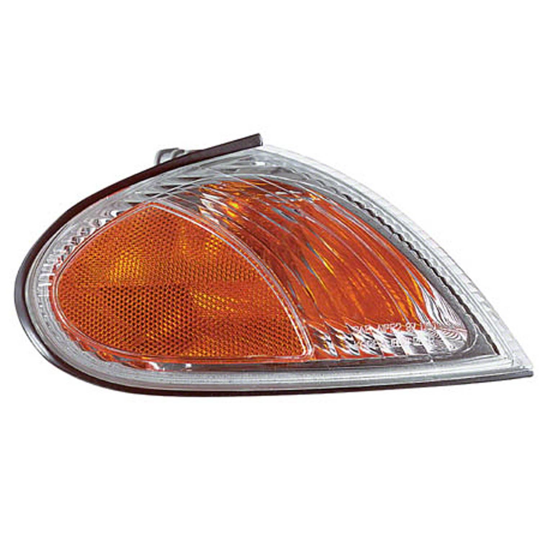 1999-2000 Hyundai Elantra Aftermarket Passenger Side Parking and Side Marker Lamp Assembly 9230229550 NSF