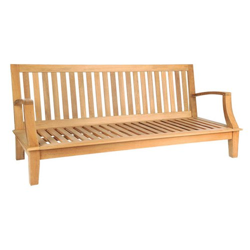HiTeak Furniture Inland Grande Loveseat Bench