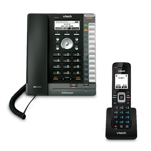 VTech VSP726 Plus 1 VSP600 ErisTerminal DECT SIP Deskset by VTech