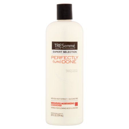 Tresemme Perfectly  Un Done Weightless Moisturizing Conditioner  25 Fl Oz